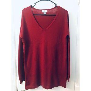 Old Navy V Neck Tunic Sweater